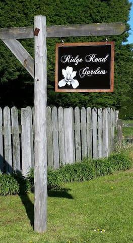 Guide book for Ridge Road Gardens