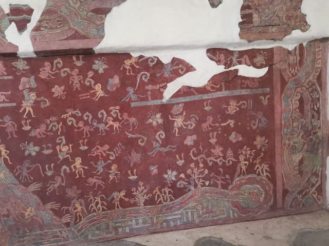Ocelocalli Teotihuacán