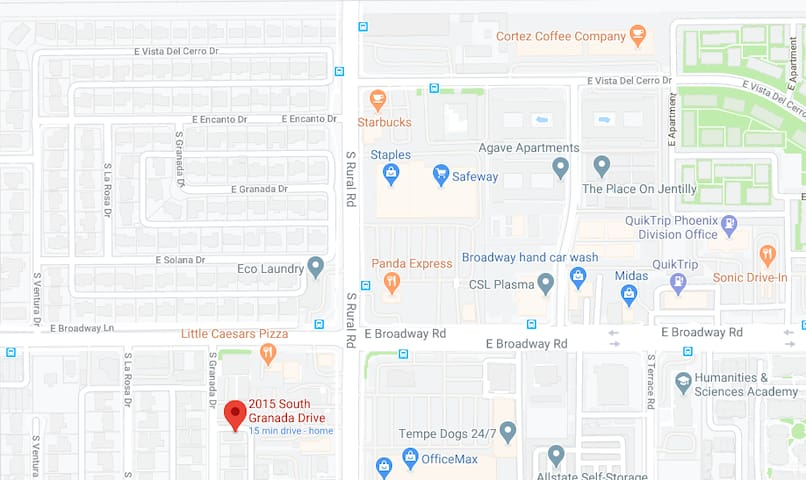 Tempe and Surrounding Areas Guidebook