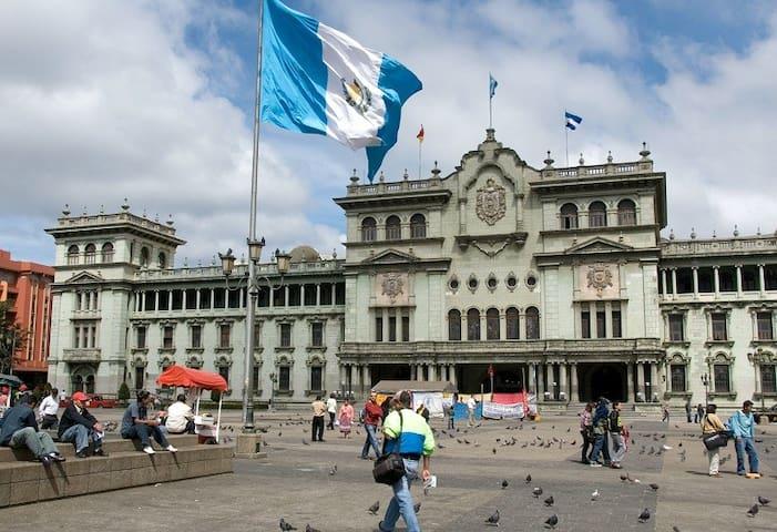 Guatemala City 1st. Time Visitors