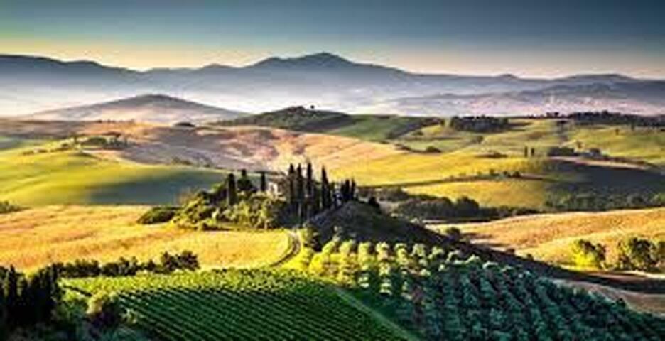 Città tipiche della storia Toscana e della cultura
