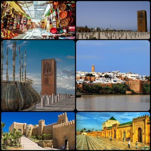 La région de Rabat