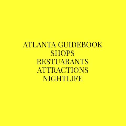 Guidebook for Atlanta