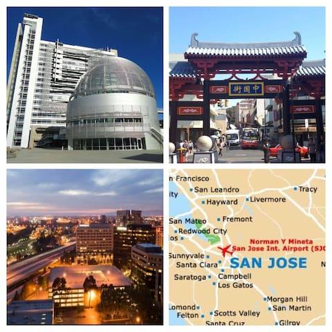 Enjoy San Jose, the heart of Silicon Valley!