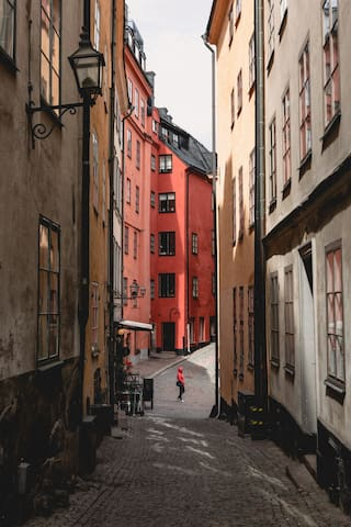 Sofia's way of exploring Stockholm