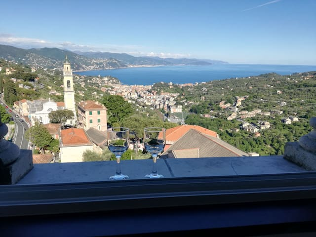 Santa Margherita Ligure and surrounding