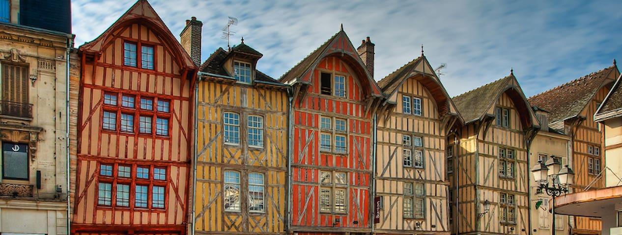 Séjourner à Troyes