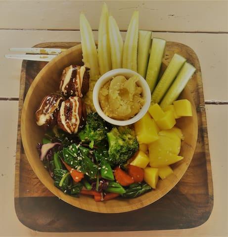 Vegetarian / vegan food in Koh Chang