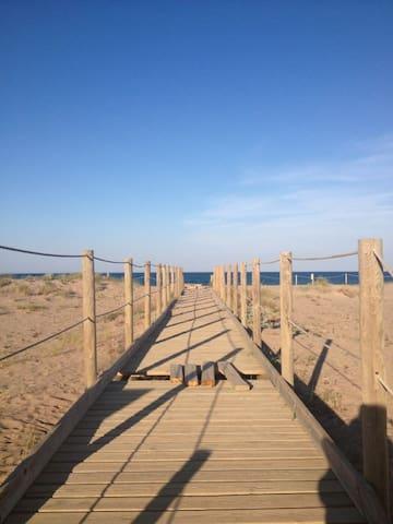 Playas y pueblos