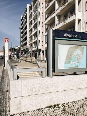 Guia para visitar Lisboa com inicio em Alvalade