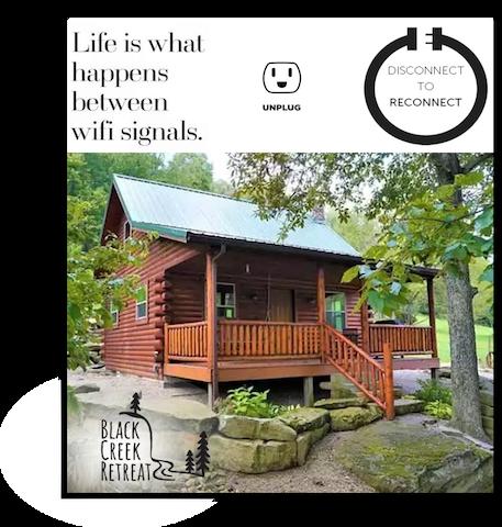 Black Creek Retreat- Come visit and enjoy