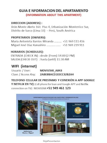 Guidebook for Lima
