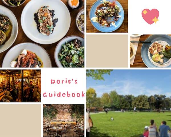 Doris's guidebook