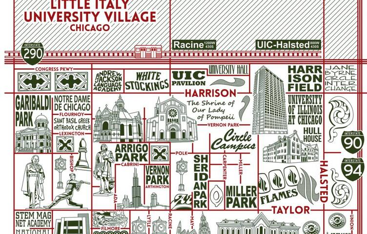 Chicago's Little Italy - Guidebook