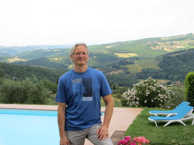 La guida di Franco : vacanze in Chianti  con escursioni giornaliere