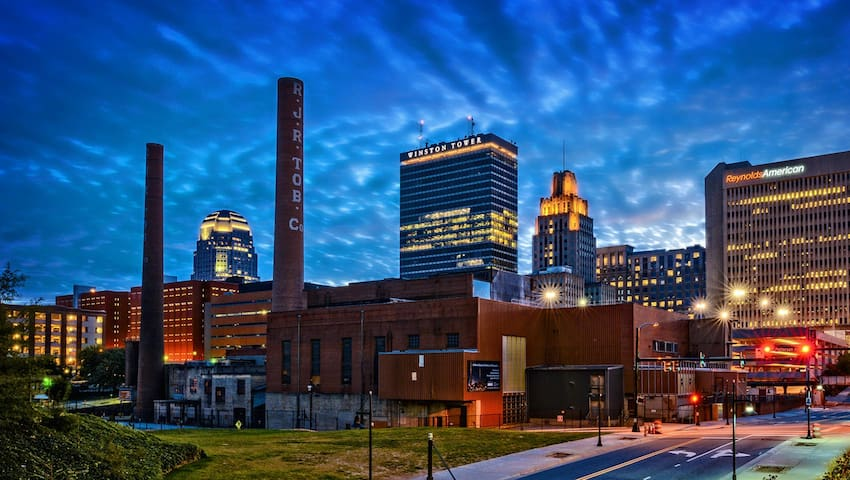 Frequent Flyer - Get to know Downtown Winston-Salem!