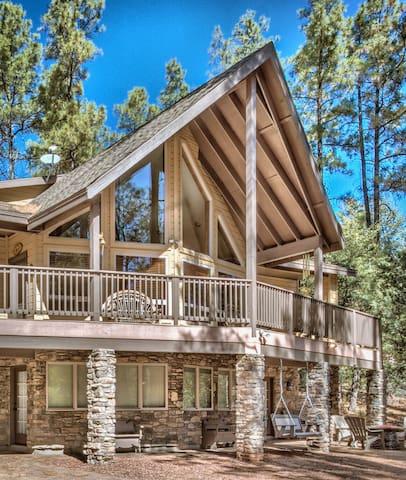 Guidebook: Glowing Pines Lodge in Pine, AZ