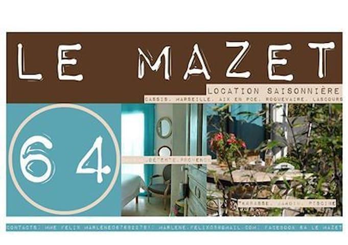 Votre séjour au 64 Le Mazet en Provence
