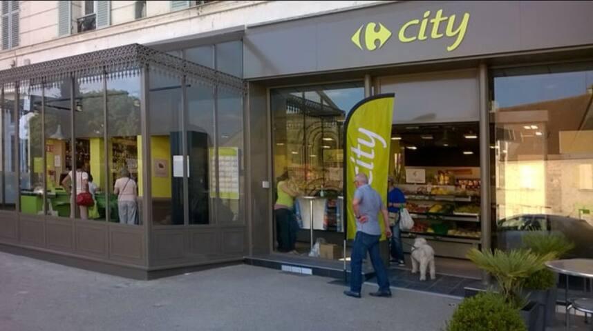 Petits commerces et Supermarchés