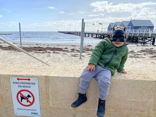 Travelling with kids around Busselton and Margaret river area