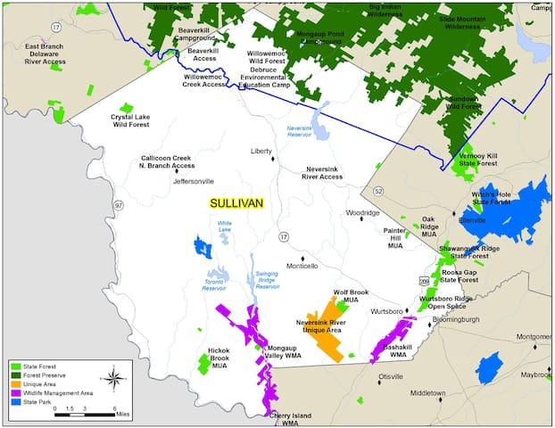 Explore Sullivan County's Hidden Gems - Mara's Guidebook