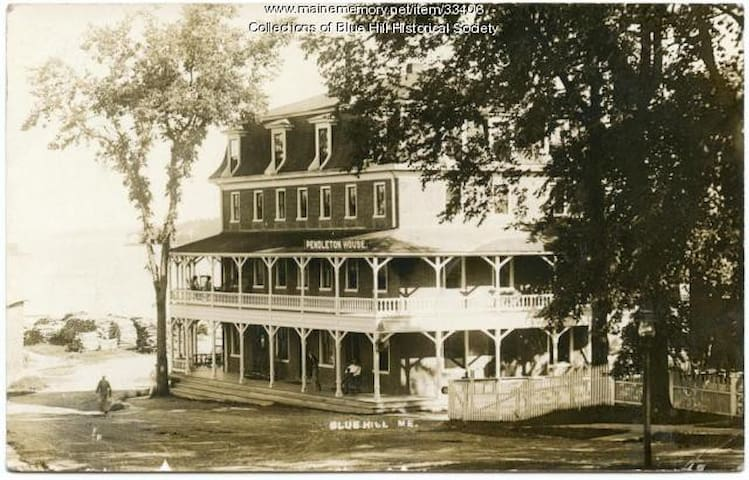 Welcome to the Historic Pendleton House in Blue Hill