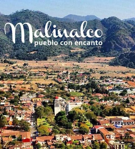 Lugares emblemáticos Malinalco