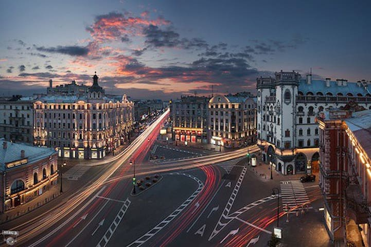 Best places of Petrogradsky District (ENG)