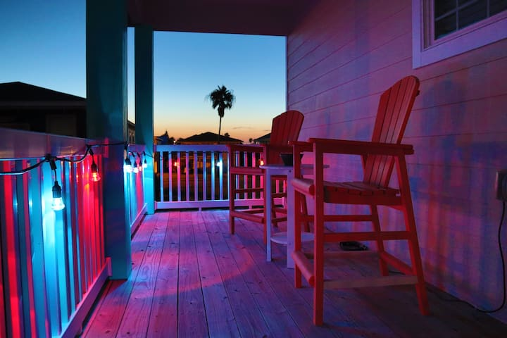 Bella Vita Beach House guidebook for Port Aransas, Texas