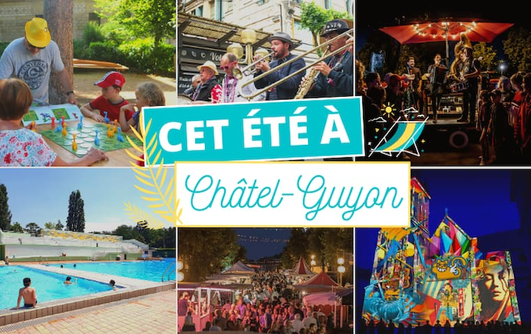 Saison estivale 2021 à Châtel-Guyon