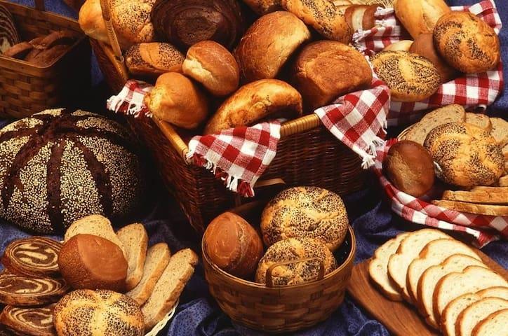 Les boulangeries du quartier et autres commerces