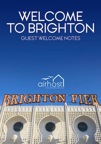 Airhost For You's Guest Guidebook for Brighton!