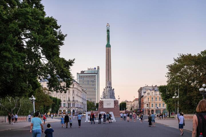 Riga as a local