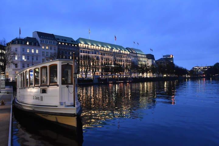 Guidebook for  Hamburg