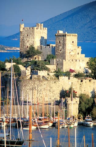 Historical sites in Bodrum city