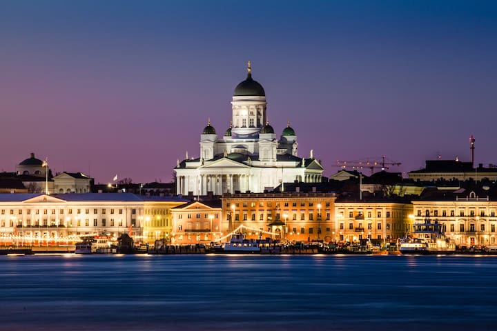 Places to visit in Helsinki and Lauttasaari