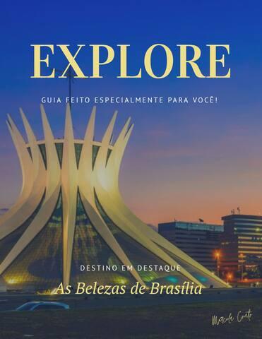 Explore Brasília por Marcela Couto
