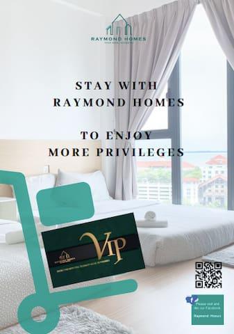 RAYMOND HOMES - VIP CARD