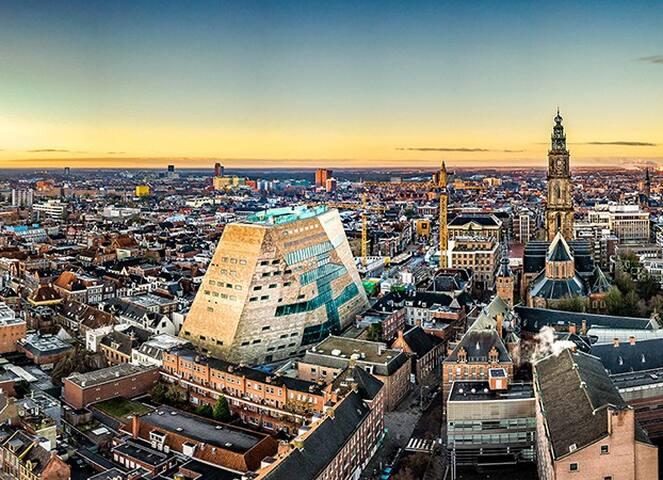 Reisgids Groningen (zie ook visitgroningen.nl)