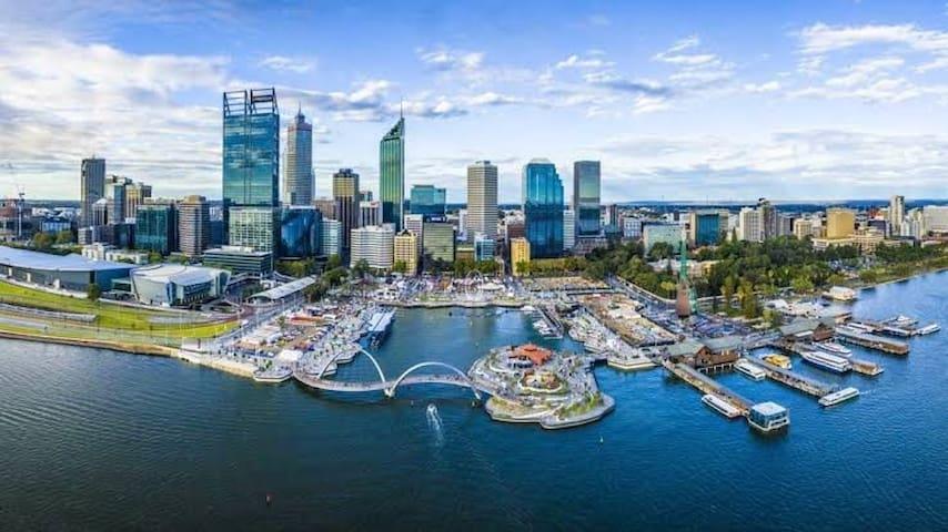 Steve & Kiri's Guidebook for Perth City