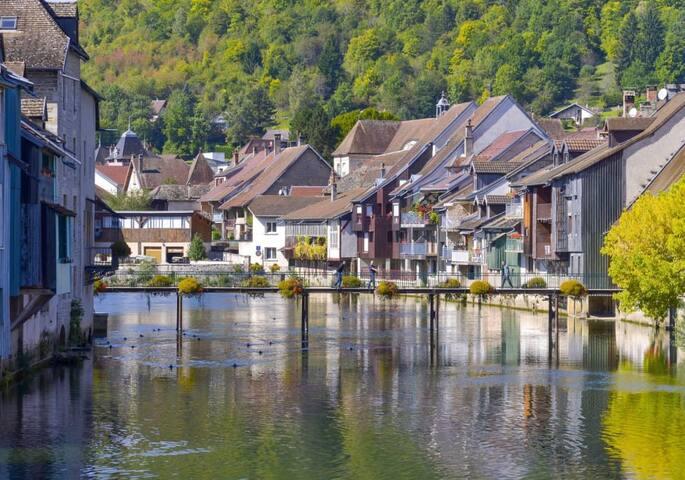 En Franche-Comté, au fil de la Loue