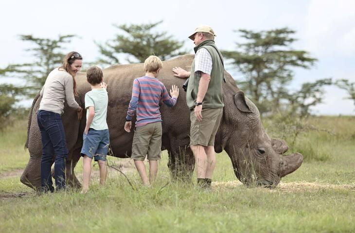 Lisa's Mt Kenya Wildlife Estate guidebook