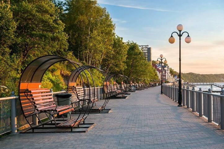 Прибрежные города Балтики