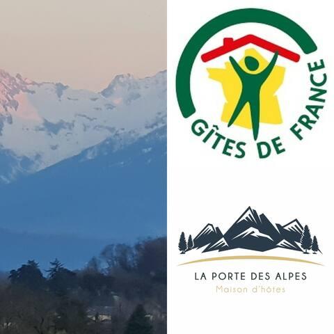 La Porte des Alpes l'art de recevoir et de prendre son temps...