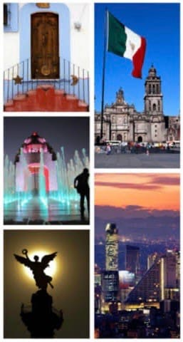 La guía a donde ir? Ciudad de México