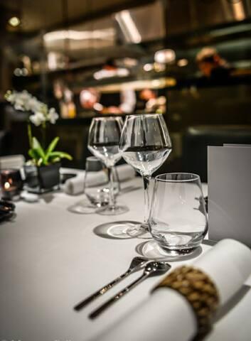 Restaurant pour le soir