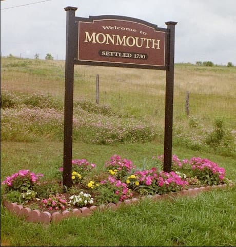 The Monmouth Area