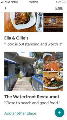 Edisto Beach restaurants