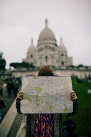 Balade dans Paris 18