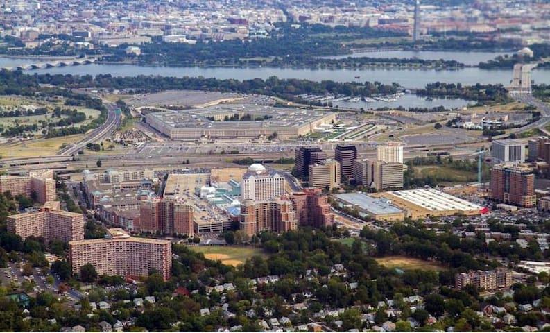 Pentagon City and Arlington Virginia
